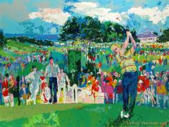 April at Augusta by LeRoy Neiman