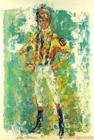 Bill Hartack by LeRoy Neiman