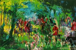 Chateau Hunt by LeRoy Neiman