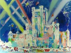 Ice Castle, St. Paul Winter Carnival by LeRoy Neiman
