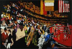International Horse Show, New York by LeRoy Neiman