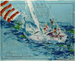 Nantucket Sailing by LeRoy Neiman