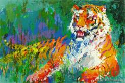 Resting Tiger by LeRoy Neiman