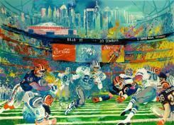 Superbowl Xxviii, Georgia Dome by LeRoy Neiman